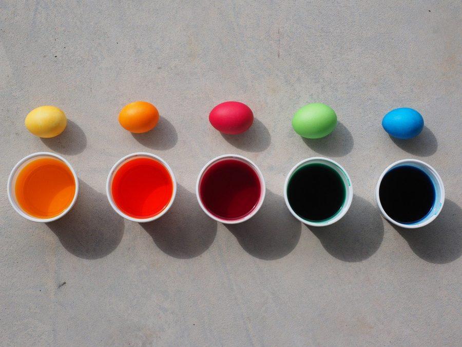 colorer oeuf de paques